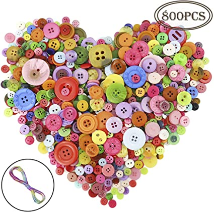 25 Pack of 2 Hole Baby Monkey Buttons For Sewing Crafts Cardmaking Scrapbooking