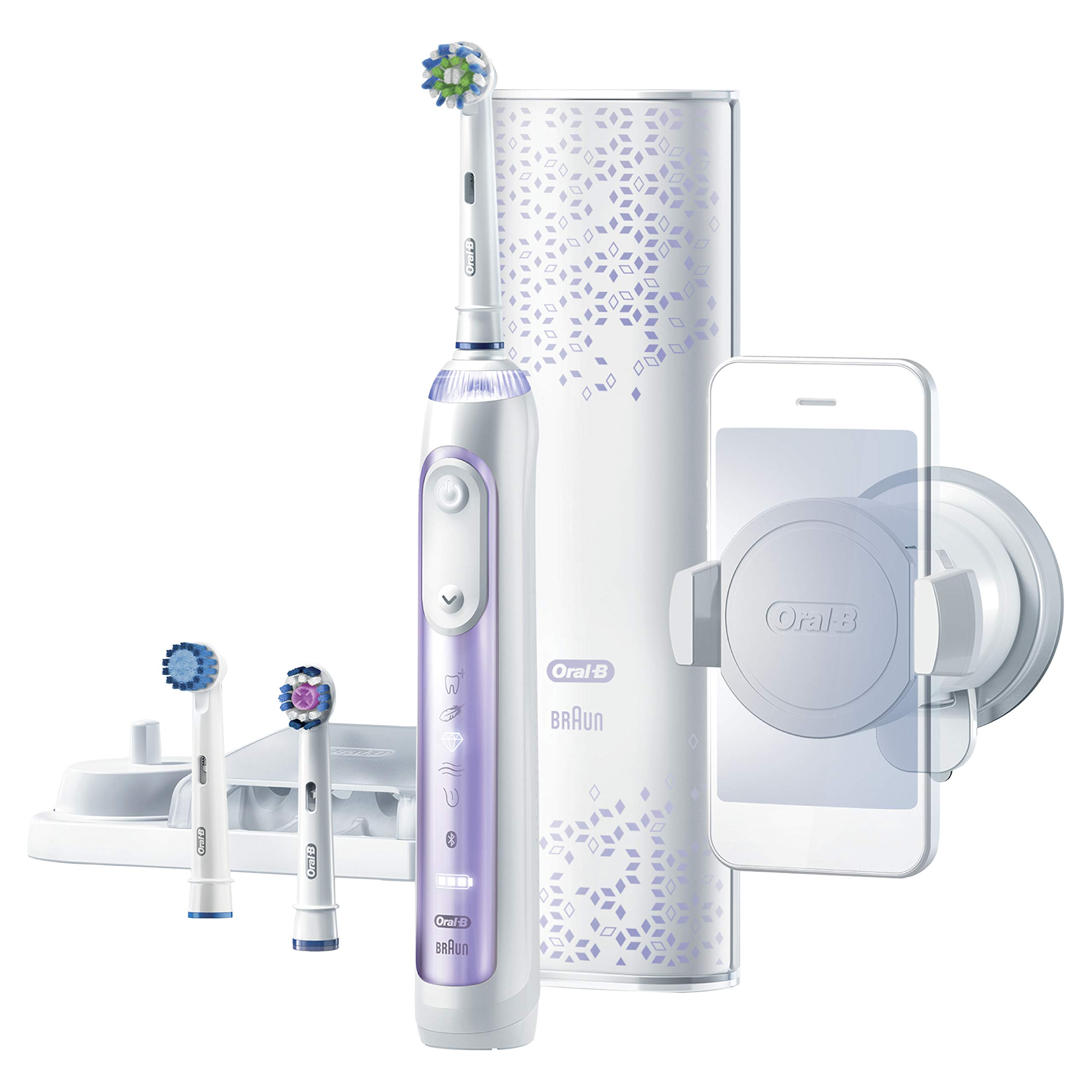 Oral-B 8000 Electronic Toothbrush, Orchid Purple, Powered by Braun by Oral-B