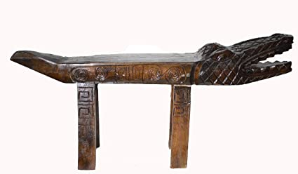 Remarkable Amazon Com Hand Carved Florida Gator Alligator Crocodile Gmtry Best Dining Table And Chair Ideas Images Gmtryco