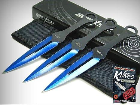Amazon.com: Juego de 3 cuchillos + sábana para tiro de ...