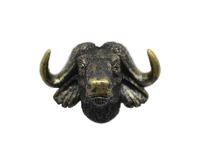 Sotcc Buffalo Fridge Magnets Refrigerator Magnets Office Magnets,Animal Magnets Handmade Magnets
