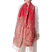 iB-iP Women's Fashion Scarf Cute Tassels Wraps Shawls Floral Long Warm Scarves