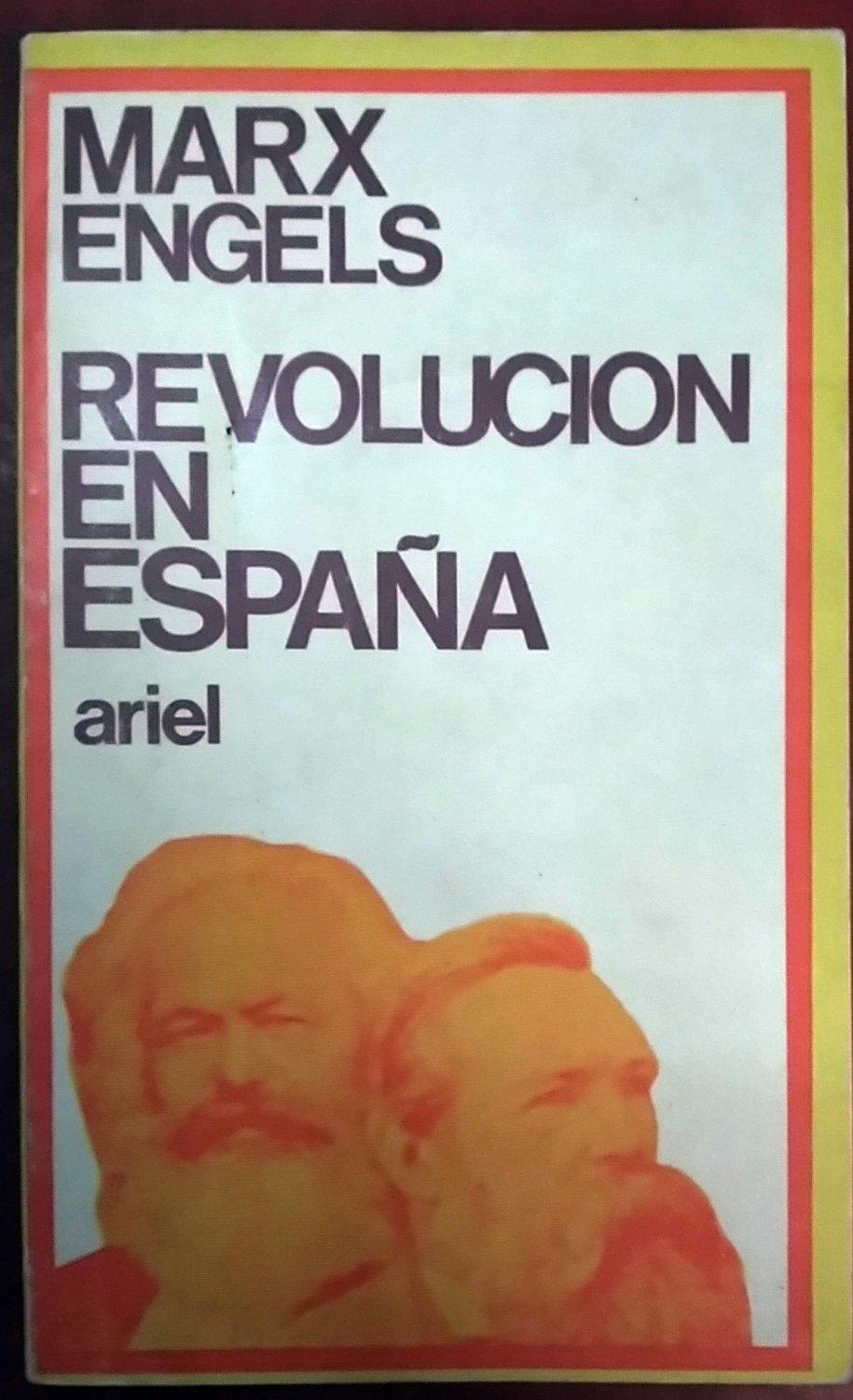 REVOLUCIÓN EN ESPAÑA: Amazon.es: MARX, Karl ENGELS, Friedrich: Libros