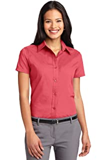 2a5bb710 Port Authority Ladies Short Sleeve Easy Care Shirt. L508 Hibiscus L