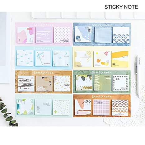 Cute Sticker Bookmark Memo Paper Marker Notice Flags Tab Sticky Note Stationery