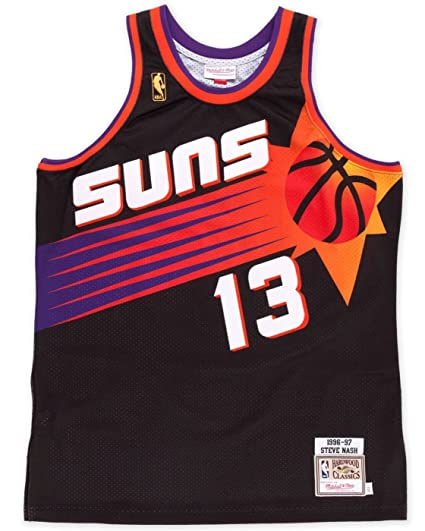 Image Unavailable. Image not available for. Color  Mitchell   Ness Steve  Nash Phoenix Suns Authentic 1996 Alternate NBA Jersey 8e1094d2c