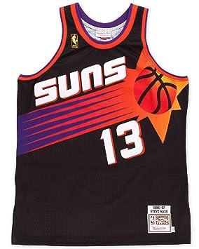 Mitchell & Ness - Camiseta de baloncesto NBA de Steve Nash de los Phoenix Suns