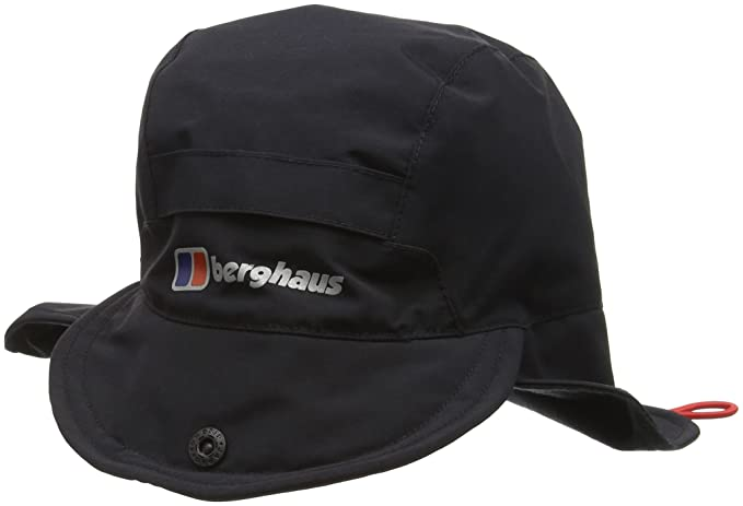 meet 65a60 7ae87 Berghaus Waterproof Men's Outdoor Hydro Shell Hat available in Black