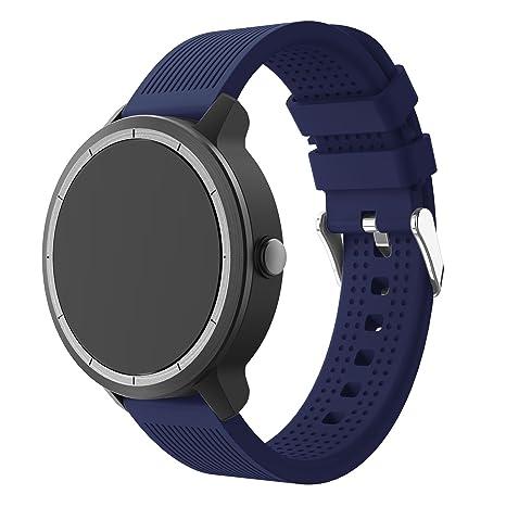 SUPORE Garmin Vivoactive 3 Bracelet, de Montre de Remplacement de Silicone pour Vivoactive 3: Amazon.fr: High-tech