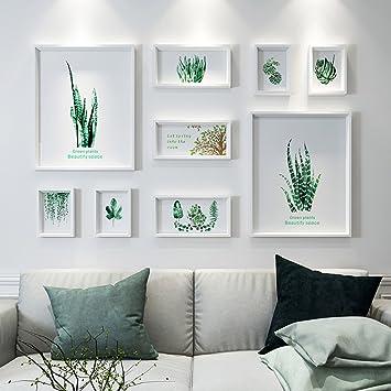 Bilderrahmen Collage Fotowand Wohnzimmer Wand Zubehör Schlafzimmer ...