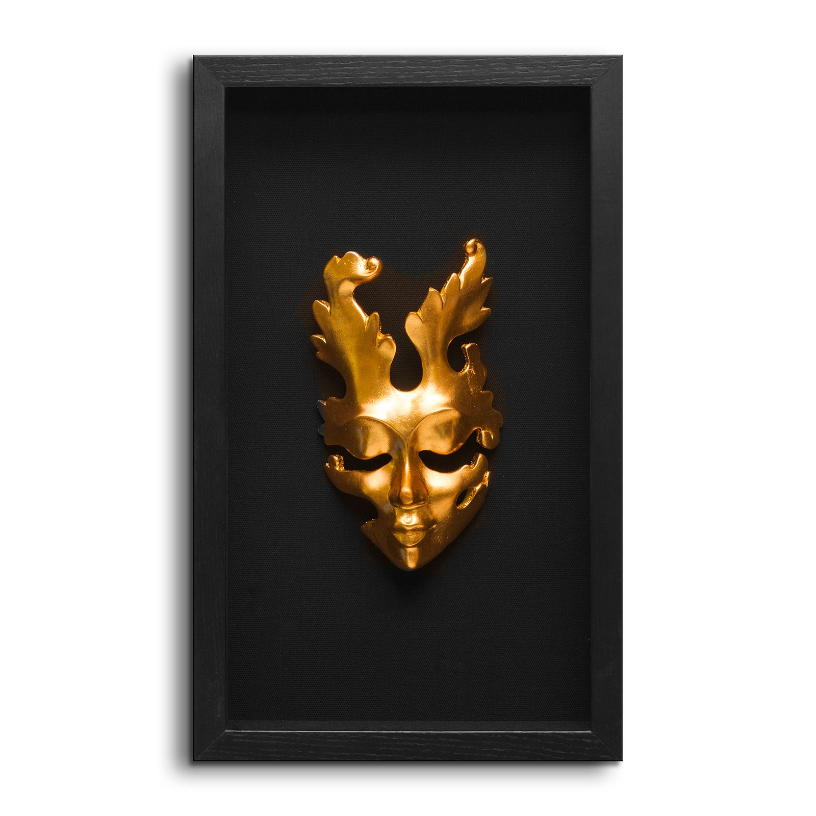 Fredrik Lorenz Original Riva Faces of Venice - Venetian Mask Wall Decor, Shadow Box Face Mask Wall Accent (3 Sisters) by Fredrik Lorenz (Image #4)