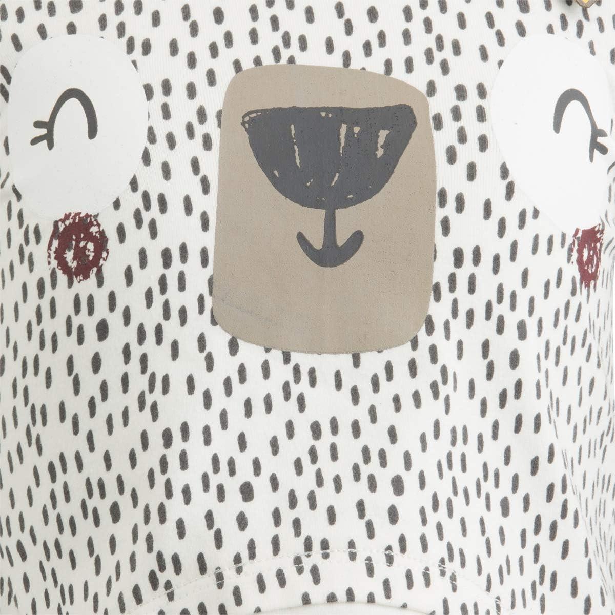 TUC TUC Maglietta Manica rasata Elastica con Dettagli e Stampe della Collezione.
