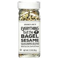 Trader Joe's Everything but the Bagel Sesame Seasoning Blend 2.3 oz, Pack of 1