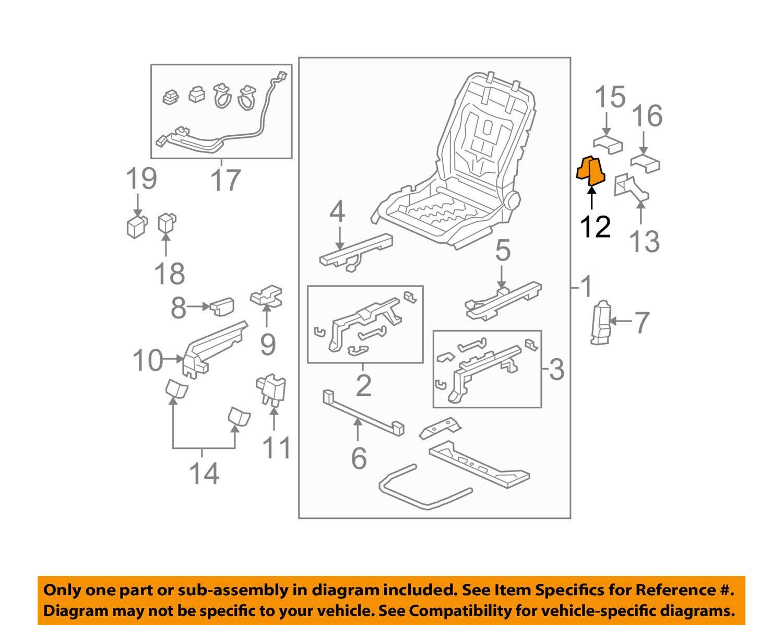 Honda Genuine 81107-SZA-A01ZA Seat Foot Cover