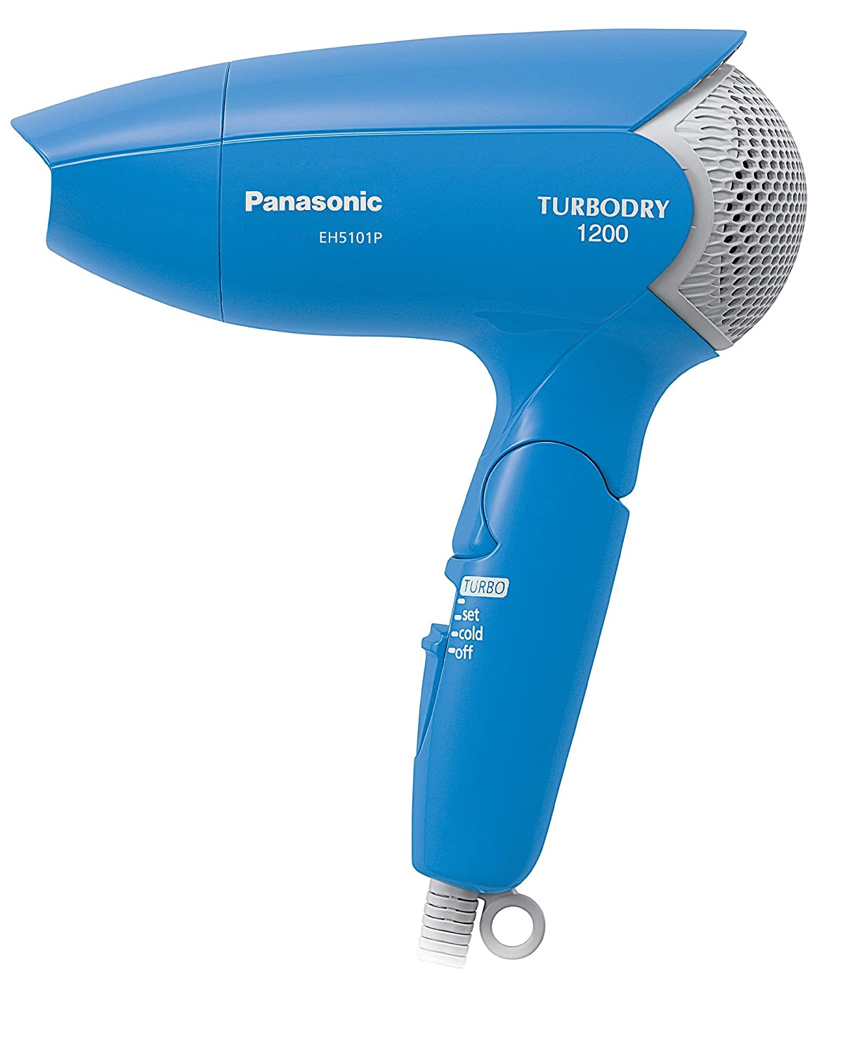 Japan Health and Beauty - Panasonic hair dryer turbo dry 1200 blue EH5101P-A *AF27* Panasonic (Panasonic)