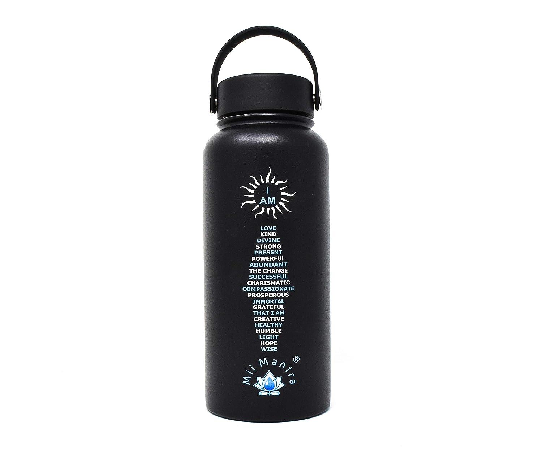 Amazon.com: Mii Mantra - Botella de agua deportiva con ...