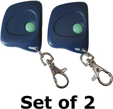 Firefly 390lmd21k Liftmaster Sears Chamberlain Garage Door Opener Keychain Remote Control 390mhz Set Of 2 Amazon Com