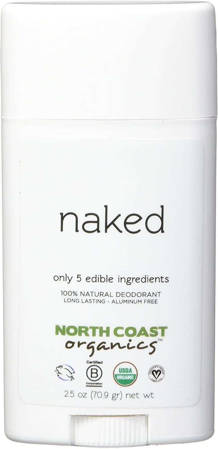 NORTH COAST ORGANICS Naked Organic Deodorant, 2.5oz
