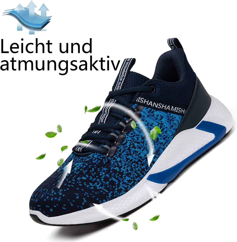 DAFENP Laufschuhe Atmungsaktiv Turnschuhe Leichte Schn/ürer Sportschuhe Hallenschuhe Gym Fitness Sneaker f/ür Herren Damen