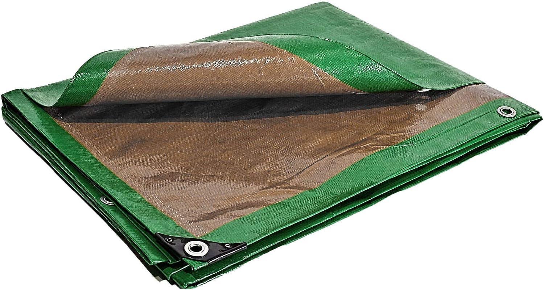 Bâches Direct PR0815 - Lona de protección, plástico,impermeable para exterior, tejados y obras, 6 x 10 m y 250 g/m²