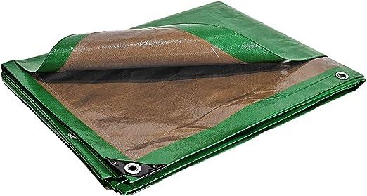 Lona de protección 5 x 8 m. 250 G/m² – Plástico – Exterior – Impermeable, de techado, para obras.: Amazon.es: Jardín