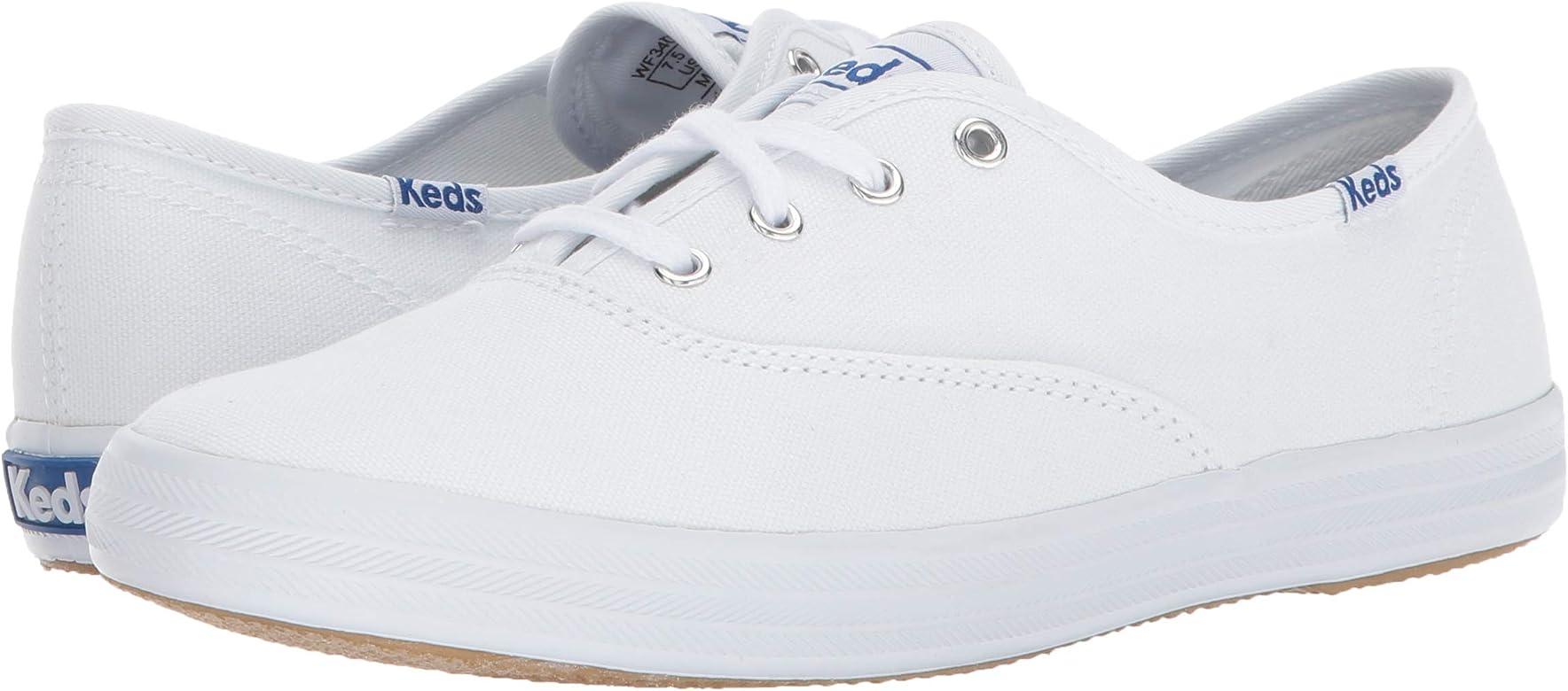 f720e9439ed3 Amazon.com | Keds Women's Champion Original Canvas Sneaker, White ...