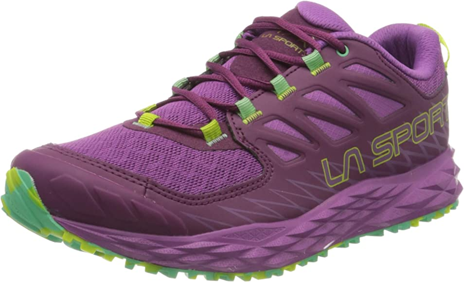 La Sportiva Lycan Woman, Zapatillas de Trail Running para Mujer, Multicolor Marine Blue Lily Orange 000, 36.5 EU: Amazon.es: Zapatos y complementos