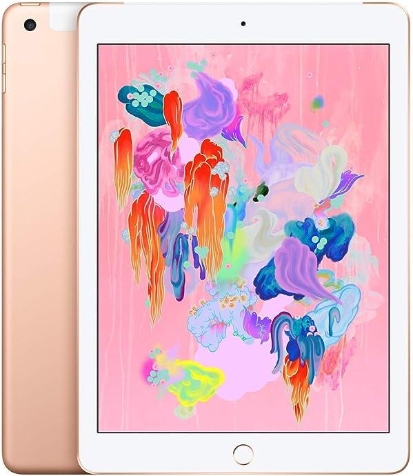 Apple iPad 平板电脑 第6代 18年款 9.7英寸(128G WLAN+Cellular版/A10 芯片/Retina显示屏/Touch ID技术)6.5折$399.99 两色可选 海淘转运到手约¥2891