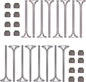 Performance Intake Valves Exhaust Valves Valve Stem Seals Kit Fit For Audi A3 A4 Quattro A5 A6 Q5 Q7 R5 S5 A8 Volkswagen VW Jetta Passat Tiguan GTI Eos CC