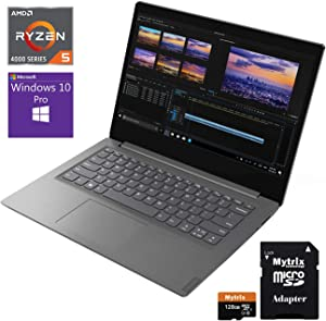 "Lenovo V14-ARE 14"" FHD Business Laptop, Ryzen 5 4500U Hexa-Core up to 4.0 GHz, 20GB DDR4 RAM, 1TB SSD, Wi-Fi, Bluetooth, HDMI, Mytrix 128GB SD Card, Win 10 Pro"