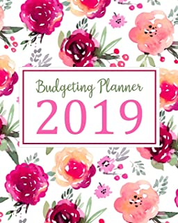 Budgeting Planner 2019: Daily Weekly & Monthly Calendar Expense