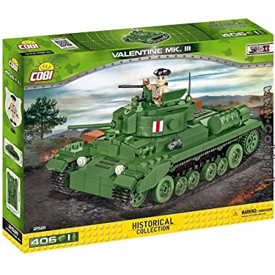 COBI Historical Collection Valentine Mk.III: Toys & Games