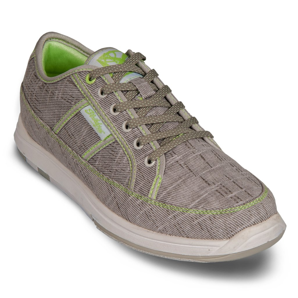 KR Strikeforce Bowling Shoes Womens Ivy Bowling Shoes- M US, Grey/Paradise Green, 7