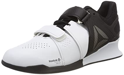 57ddec4d30a Amazon.com  Reebok Legacy Lifter Mens Weightlifting Shoes - White ...