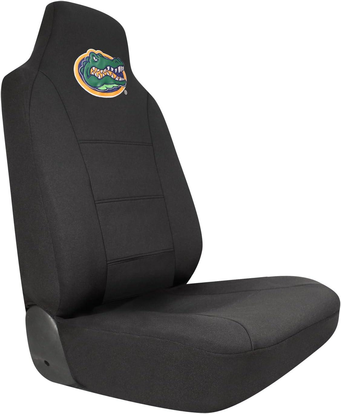 Collegiate Boise State Broncos Pilot Alumni Group SC-988 Black Seat Cover with Logo