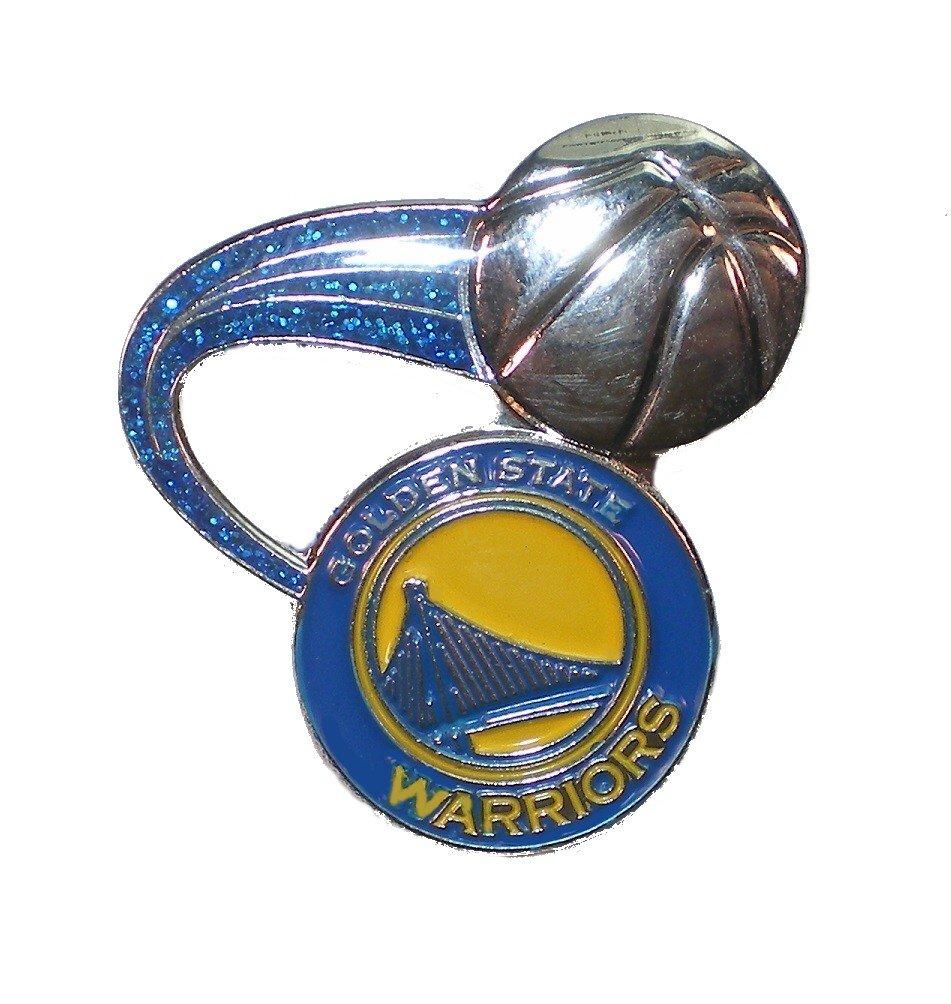Golden State Warriors Glitter Pin