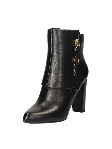 Guess FL6IVNLEA10 Botines Mujer Cuero Negro 39: Amazon.es: Zapatos y complementos