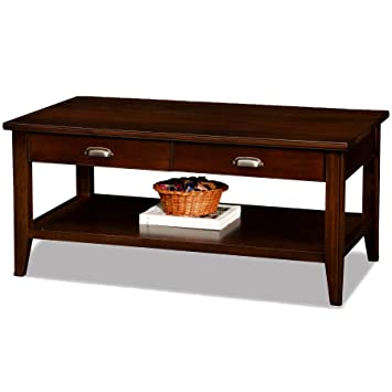 Superb Leick Laurent 2 Drawer Coffee Table
