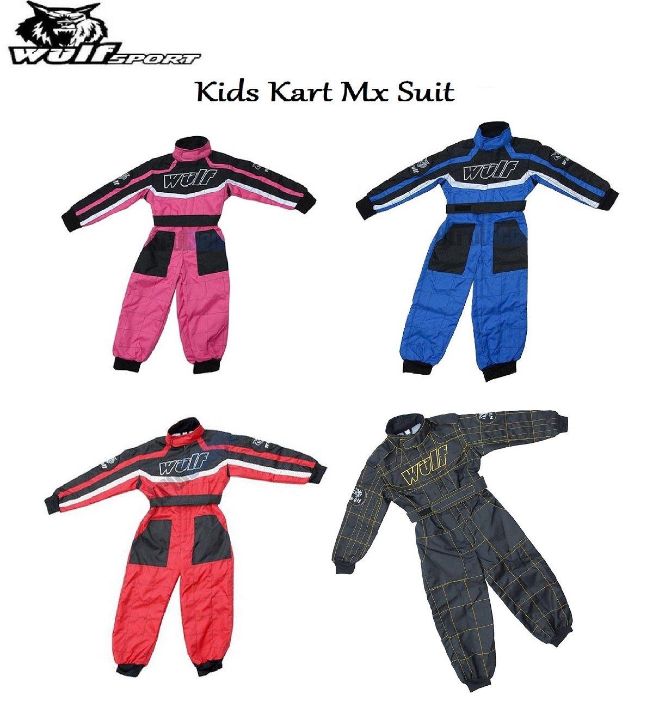 Wulfsport Cub Kids traje de Kart Motocross Quad Sport Racing ...