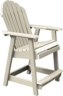 product image for Highwood AD-CHCA2-WAE Hamilton Counter Height Deck Chair, Whitewash
