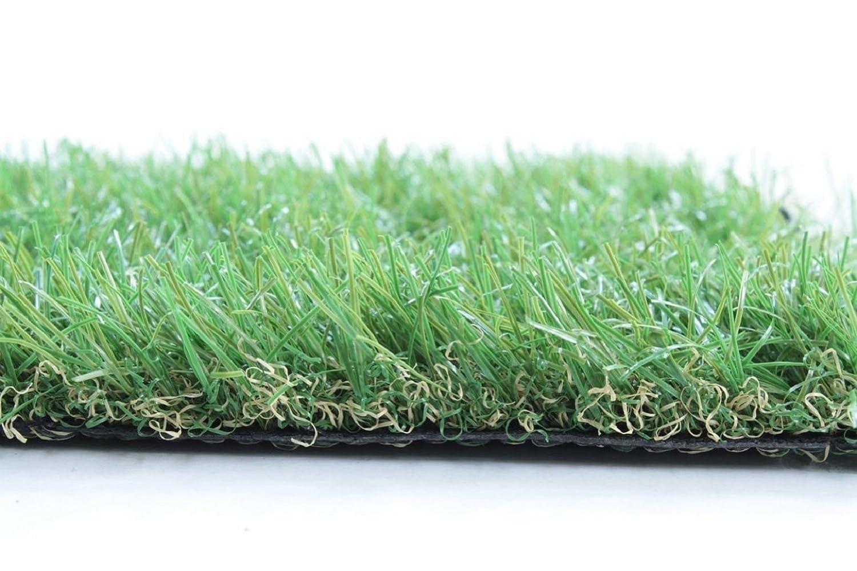 【ベランダバルコニー屋上緑化庭芝DIY】 人工芝 1×1m 6枚入り (JS-100GR.×6) B00QTCTCW0 13375 1×1m 6枚入  1×1m 6枚入