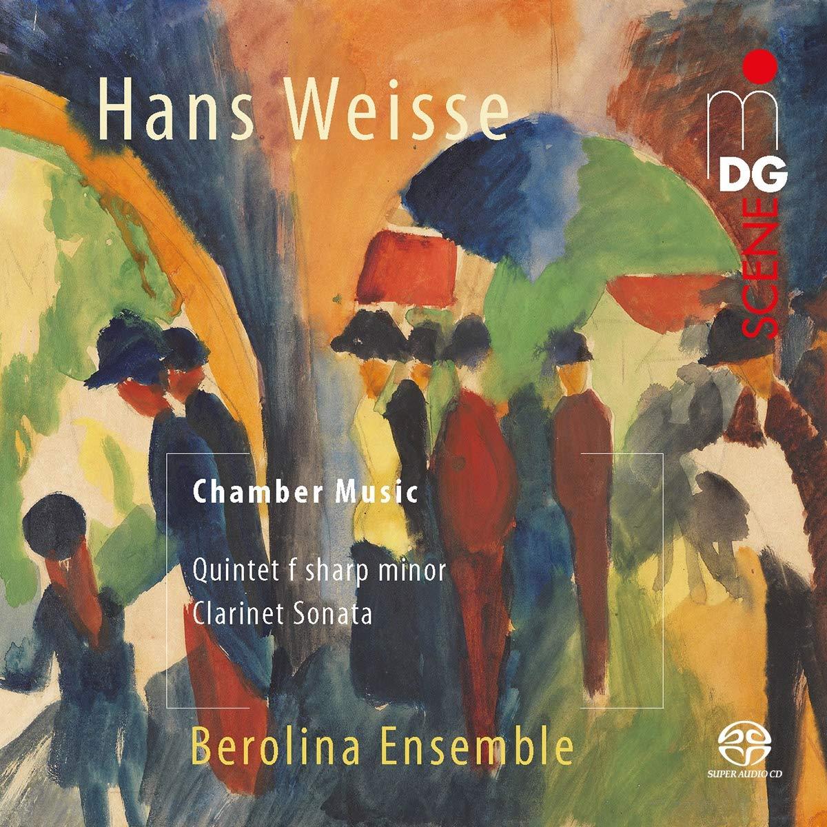SACD : BEROLINA ENSEMBLE - Clarinet Chamber Music (Hybrid SACD)