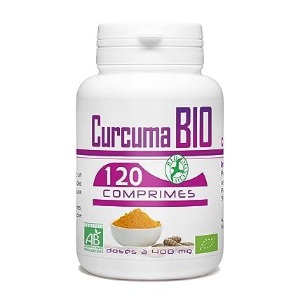 Curcuma Bio – 400 mg – 120 Pastillas