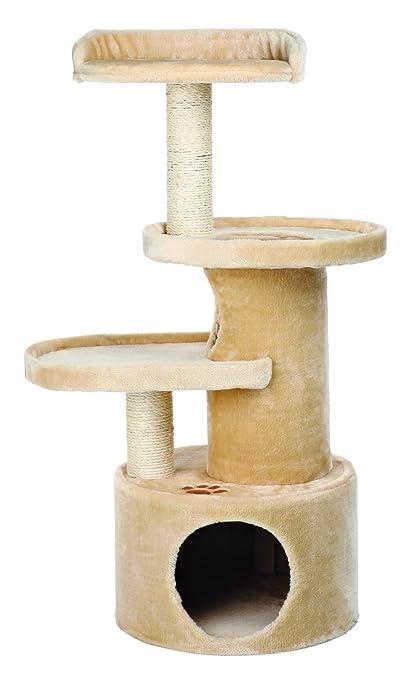 2e51aa68acdc Amazon.com : TRIXIE Pet Products Oviedo Cat Tree (Beige) : Cat Posts ...