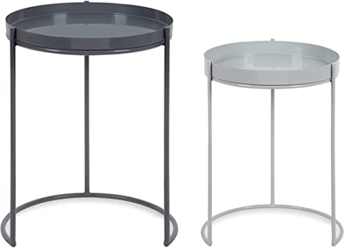 Kate and Laurel Presti Modern Nesting Table Set