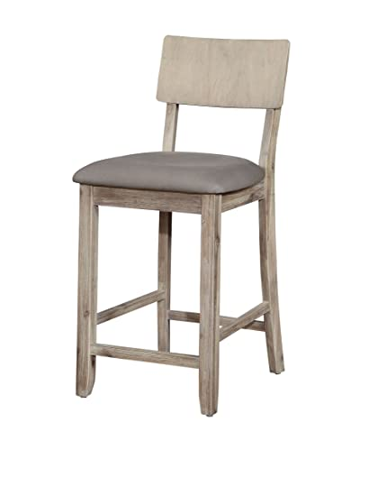 Remarkable Linon Counter Stool In Gray Wash Ibusinesslaw Wood Chair Design Ideas Ibusinesslaworg
