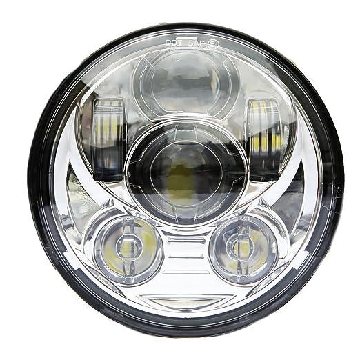 """4 opinioni per Esyauto UN PAIO 5-3/4"""" 5.75"""" Faro Anteriore MOTO LED Faro Harley Davidson Led"""
