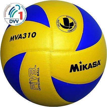 Mikasa MVA 310 - Pelota para Voleibol (Talla 5): Amazon.es ...