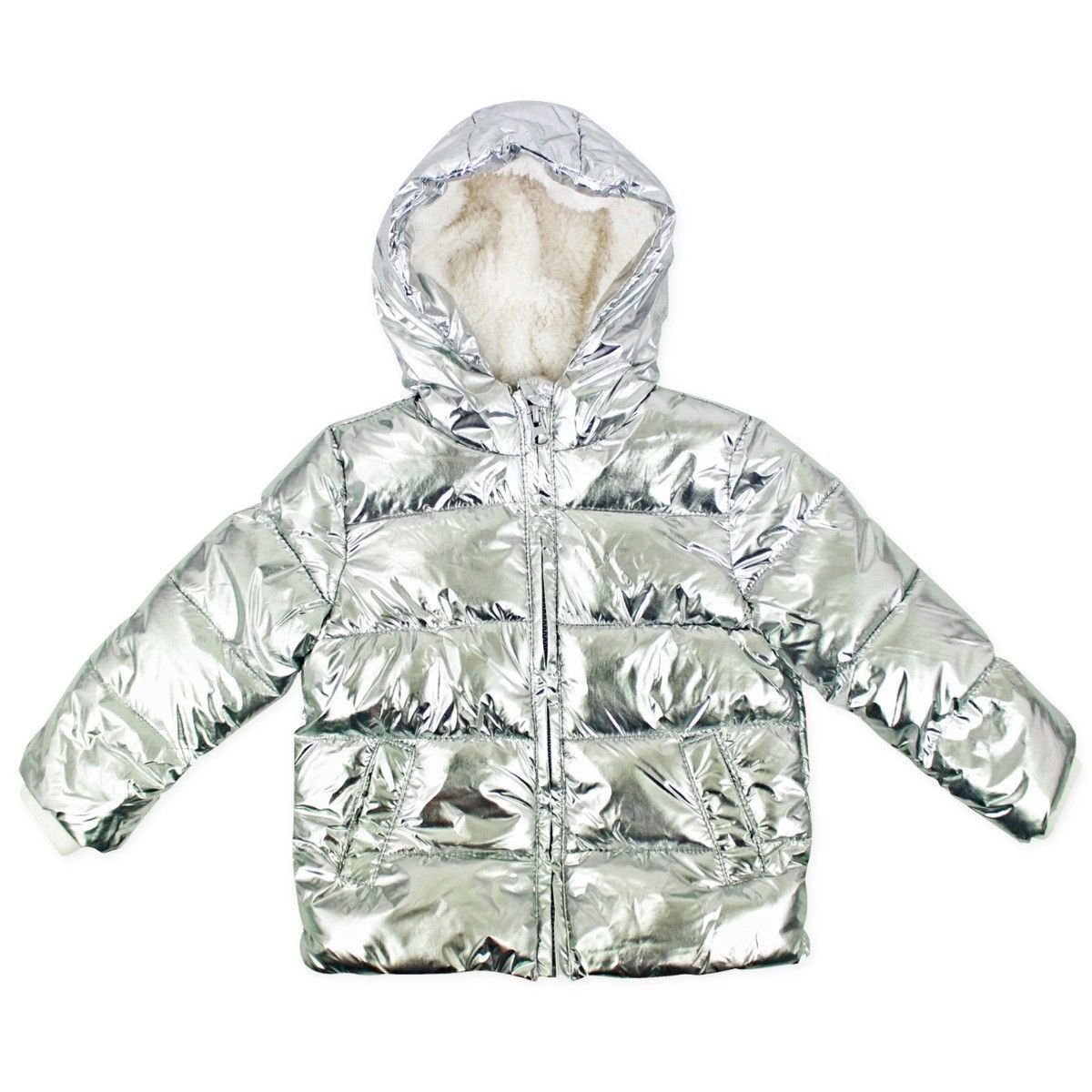 Ex UK Store Baby Girls Coat Padded Fleece Lined Jacket