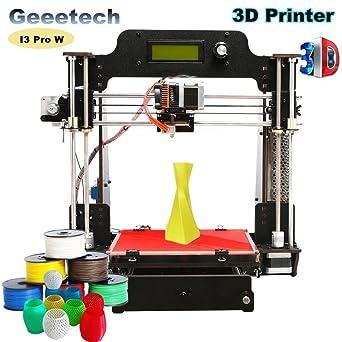 GEEETECH I3 Pro W Impresora 3D de alta precisión GT2560, gran ...